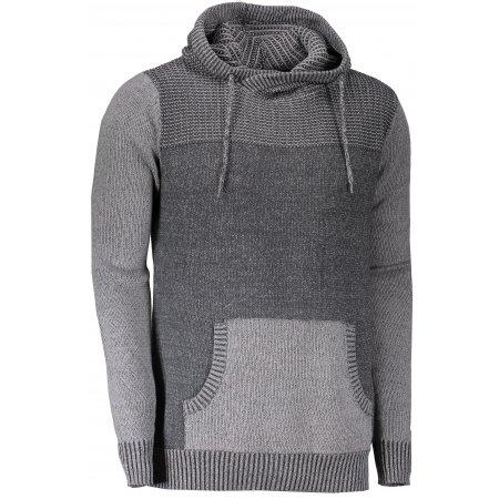 Pánský svetr ALPINE PRO OLB MPLK035 SVĚTLE ŠEDÁ