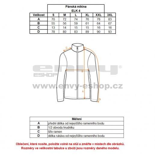 Pánská mikina ALPINE PRO ELK 4 MSWK114 TMAVĚ MODRÁ