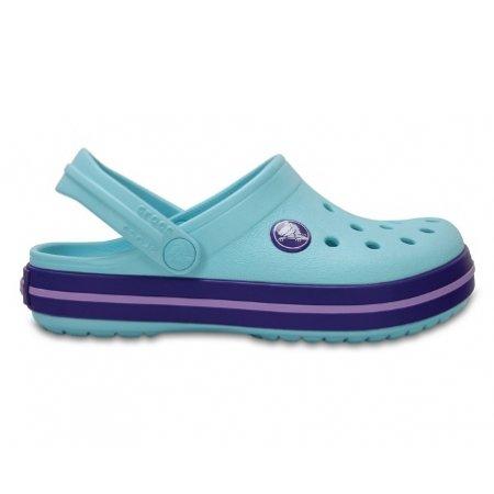 Dětské pantofle CROCS CROCBAND CLOG K 204537-4O9 ICE BLUE