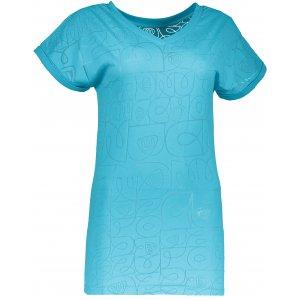 Dámské tričko NORDBLANC NBSLT4431 BAZÉNOVĚ MODRÁ