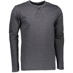 Pánské triko s dlouhým rukávem ALPINE PRO PERKOS 3 MTSK219 SVĚTLE ŠEDÁ