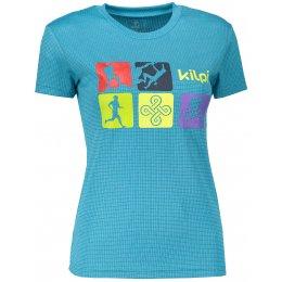 Dámské funkční triko KILPI SANDORA-W MODRÁ