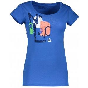 Dámské tričko NORDBLANC NBSLT5114 MODRÁ