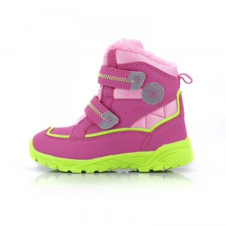Dětské zimní boty ALPINE PRO KIBBI KBTK134 RŮŽOVÁ