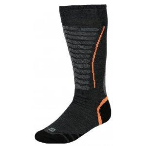 Lyžařské ponožky ALPINE PRO NELL USCK022 ORANŽOVÁ