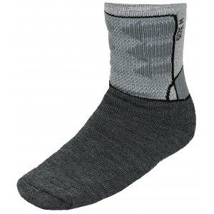 Ponožky ALPINE PRO JARIX USCK015 TMAVĚ ŠEDÁ