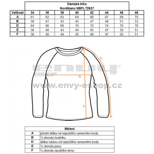 Dámské tričko s dlouhým rukávem NORDBLANC NBFLT2837 ČERNÁ