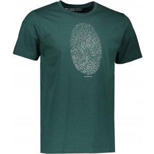 Pánské triko s krátkým rukávem ALPINE PRO AMIT 4 MTSK221 ZELENÁ