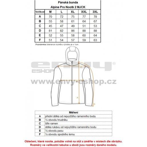 Pánská softshellová bunda ALPINE PRO NOOTK 2 MJCK208 TMAVĚ MODRÁ