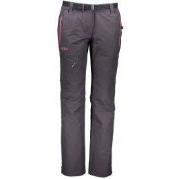 Dámské zateplené kalhoty ALTISPORT TURSA II TMAVĚ ŠEDÁ