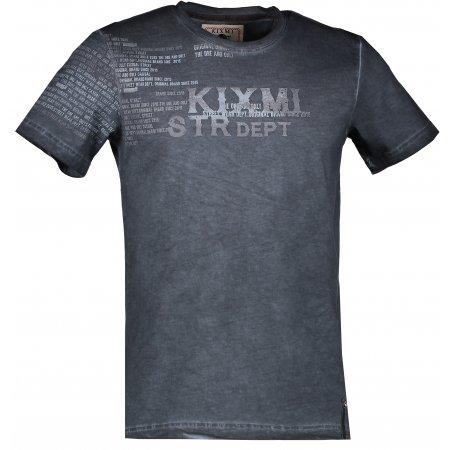 Pánské triko KIXMI DEMARCO AAMTW17152 ČERNÁ