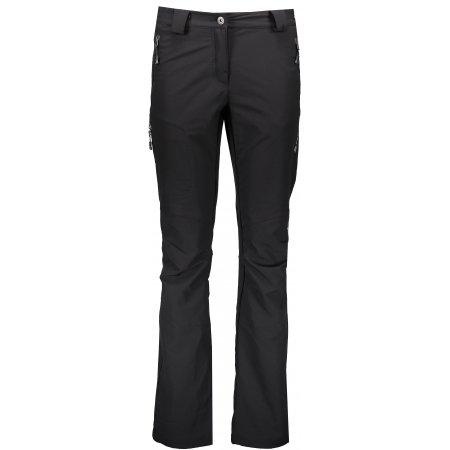 Dámské softshellové kalhoty ALPINE PRO ALBA LPAK047 ČERNÁ