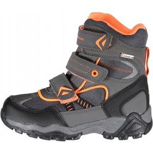Dětské zimní boty ALPINE PRO HAYLEY KBTK154 ŠEDÁ