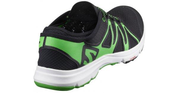182066ad579 Pánské běžecké boty SALOMON CROSSAMPHIBIAN SWIFT L39344900  BLACK BLACK CLASSIC GREEN velikost  EU 42 2 3 (UK 8