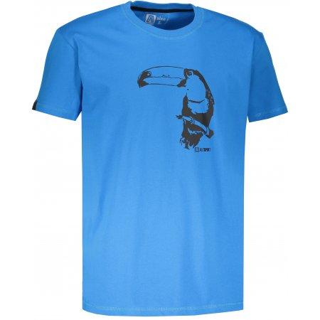 Pánské tričko s krátkým rukávem ALTISPORT KOVRT MODRÁ