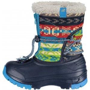 Dětské zimní boty ALPINE PRO KODY KBTK155 TMAVĚ MODRÁ