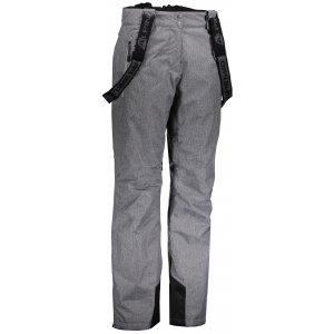 Dámské lyžařské kalhoty ALPINE PRO MINNIE 4 LPAK238 TMAVĚ ŠEDÁ