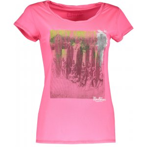 Dámské tričko NORDBLANC NBSLT4386 ÉTERICKÁ RŮŽOVÁ