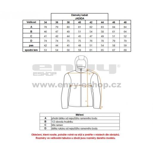 Dámský softshellový kabát ALTISPORT JADIDA ALLW17039 ČERNÁ