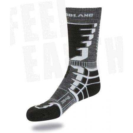 Snowboard a lyžařské ponožky NORDBLANC NBSX2301 ČERNÁ