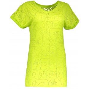 Dámské tričko NORDBLANC NBSLT4431 JASNĚ ZELENÁ