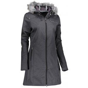 Dámský zateplený softshellový kabát ALPINE PRO PRISCILLA 2 INS. LCTK023 ČERNÁ
