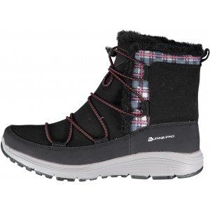 283b787b5b0 Dámské zimní boty ALPINE PRO DARLEEN LBTK145 ČERNÁ