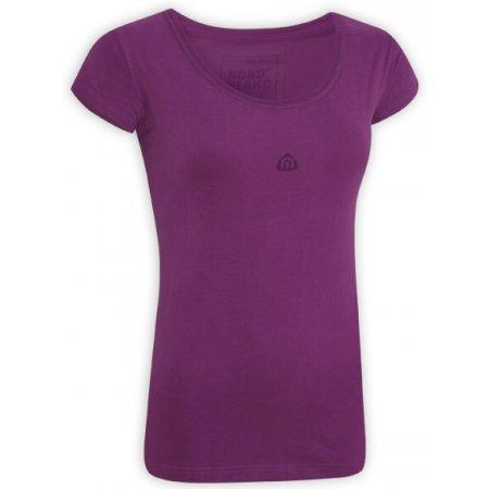 Dámské tričko s krátkým rukávem NORDBLANC NBSLT2506 FIALOVÉ PEKLO