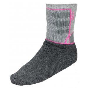 Ponožky ALPINE PRO JARIX USCK015 RŮŽOVÁ