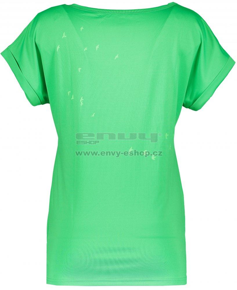 3738fd6c7b2 Dámské tričko NORDBLANC NBSLT5049 ZELENÝ TUKAN velikost  38   ENVY ...