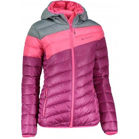 Dámská zimní bunda ALPINE PRO BARROKA 2 LJCK183 RŮŽOVÁ
