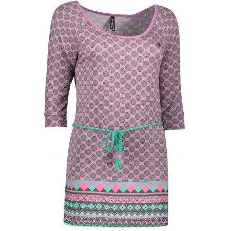 Dámské triko s dlouhým rukávem KIXMI DIANA AALTW17105 SVĚTLE FIALOVÁ