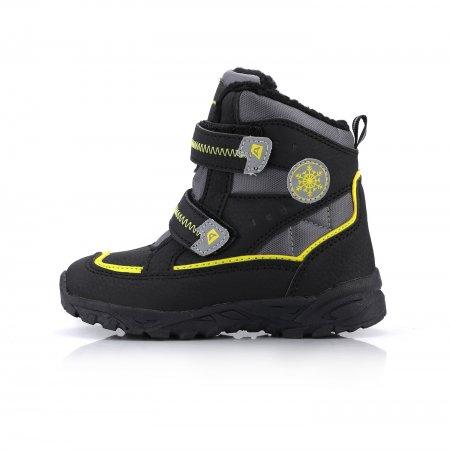 Dětské zimní boty ALPINE PRO KIBBI KBTK134 ČERNÁ