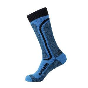 Ponožky ALPINE PRO DIMITRI USCK012 SVĚTLE MODRÁ