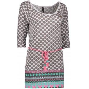 Dámské triko s dlouhým rukávem KIXMI DIANA AALTW17105 BÍLÁ