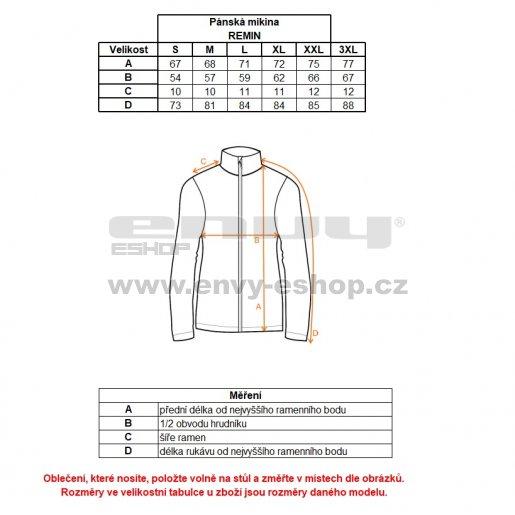 Pánská mikina s kapucí ALPINE PRO REMIN MSWK111 SVĚTLE ŠEDÁ