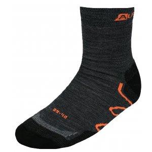 Ponožky ALPINE PRO AMIRAH USCK020 ORANŽOVÁ