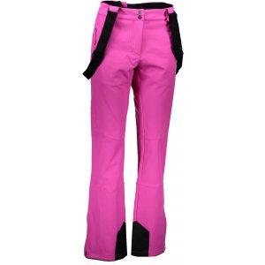 Dámské softshellové zateplené kalhoty ALPINE PRO NEXA 2 LPAK188 RŮŽOVÁ