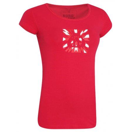 Dámské tričko s krátkým rukávem NORDBLANC NBFLT2830 RŮŽOVÁ