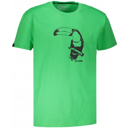 Chlapecké tričko s krátkým rukávem ALTISPORT KOVRT-J ZELENÁ