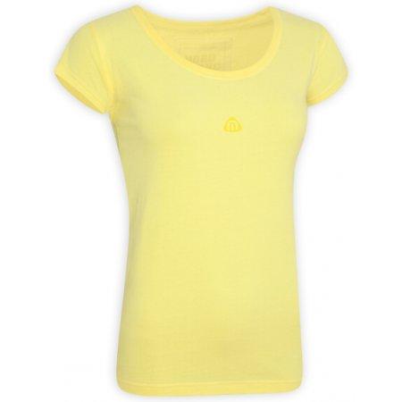 Dámské tričko s krátkým rukávem NORDBLANC NBSLT2506 BANÁNOVĚ ŽLUTÁ