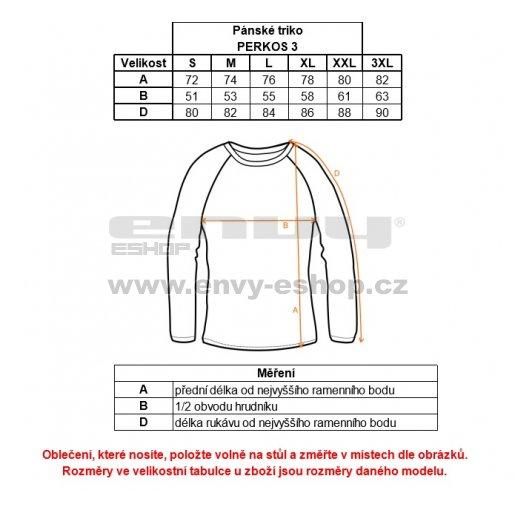 Pánské triko s dlouhým rukávem ALPINE PRO PERKOS 3 MTSK219 ŠEDÁ