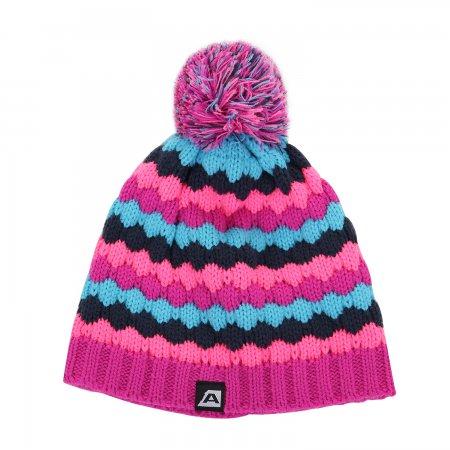 Dětská zimní čepice ALPINE PRO FRANNY KHAK023 RŮŽOVÁ