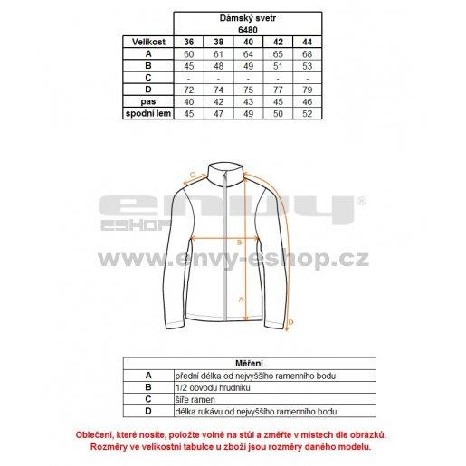 Dámský svetr NORDBLANC SUBTLE NBWFL6480 KRÉMOVĚ BÍLÁ
