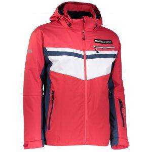 Pánská lyžařská bunda NORDBLANC SWORD NBWJM6401 JAHODOVÁ ČERVENÁ