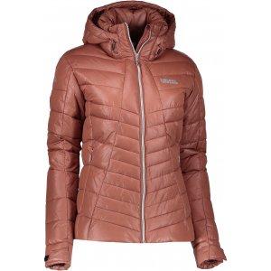 Dámská zimní bunda NORDBLANC LAVISH NBWJL6427 SKOŘICOVĚ HNĚDÁ