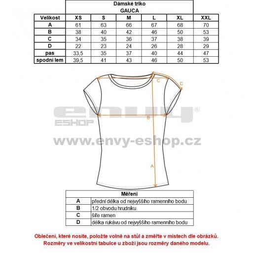 Dámské triko ALPINE PRO GAUCA LTSK295 BÍLÁ