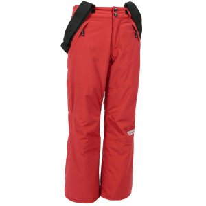 Dětské zimní kalhoty NORDBLANC JIMP NBWPK6468L TMAVĚ HLINÍKOVĚ ČERVENÁ