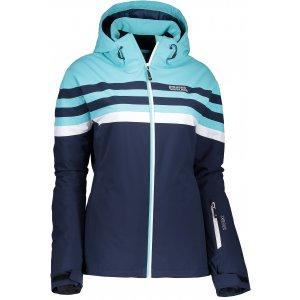 Dámská zimní bunda NORDBLANC TINGE NBWJL6423 TEMNÁ MODRÁ