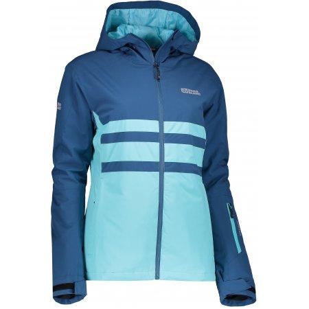 Dámská zimní bunda NORDBLANC SHOWY NBWJL6424 TYRKYSOVÁ